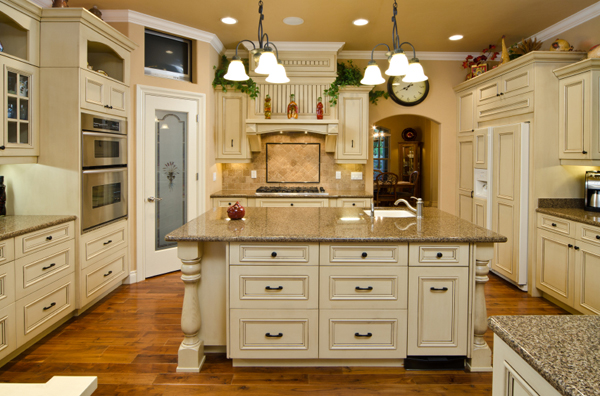 Green kitchen appliances photo - 3