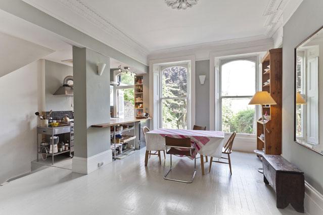 Grey kitchen curtains photo - 3