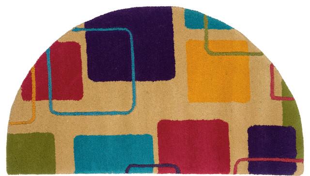 Half moon kitchen rugs photo - 3