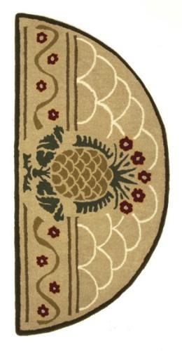 Half round kitchen rugs photo - 2