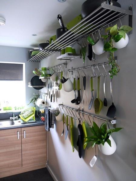 Hanging kitchen storage photo - 2