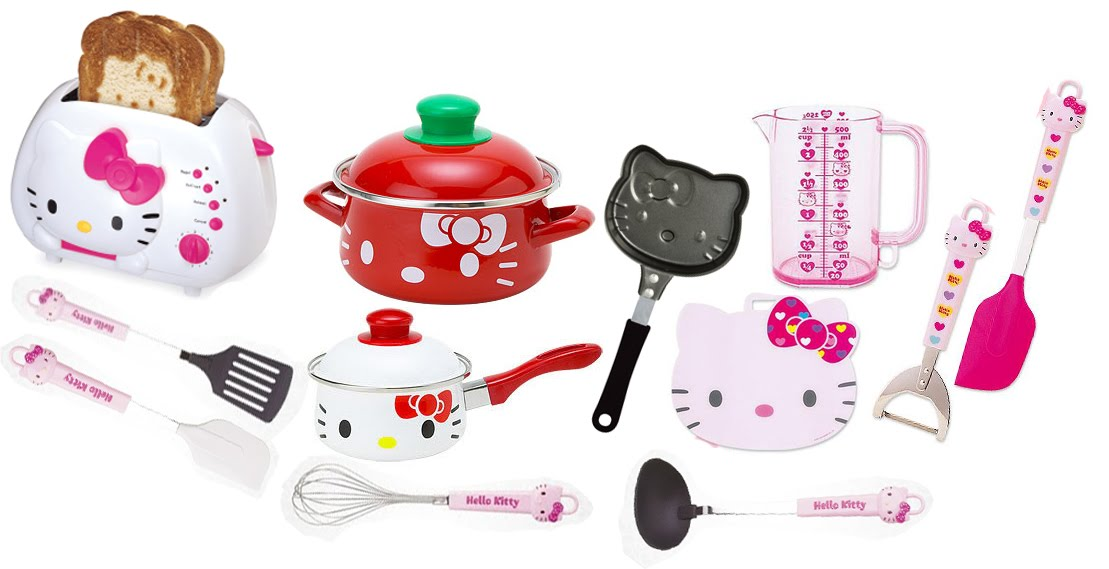 Hello kitty kitchen appliances photo - 2