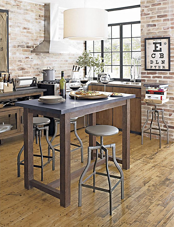 High stools for kitchen photo - 2