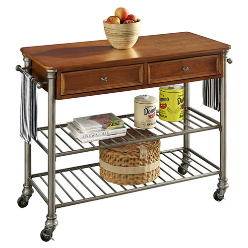 Home styles the orleans kitchen island photo - 2