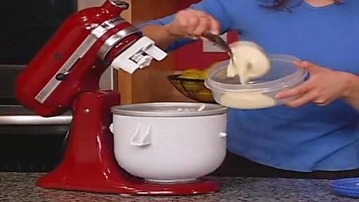 Ice cream attachment for kitchenaid mixer photo - 1