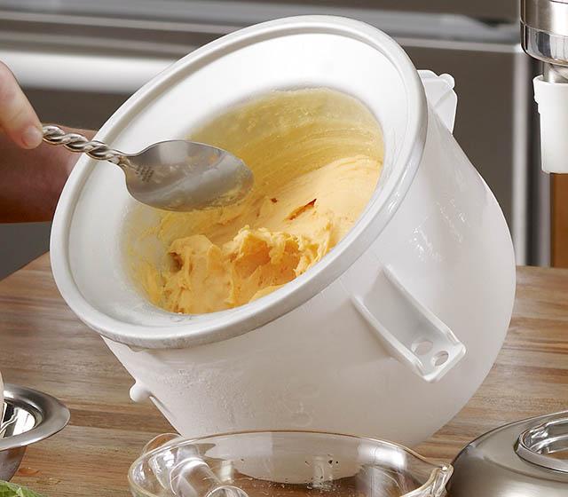 Ice cream maker attachment for kitchenaid photo - 2