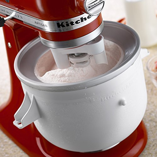 Ice cream maker kitchenaid attachment photo - 3
