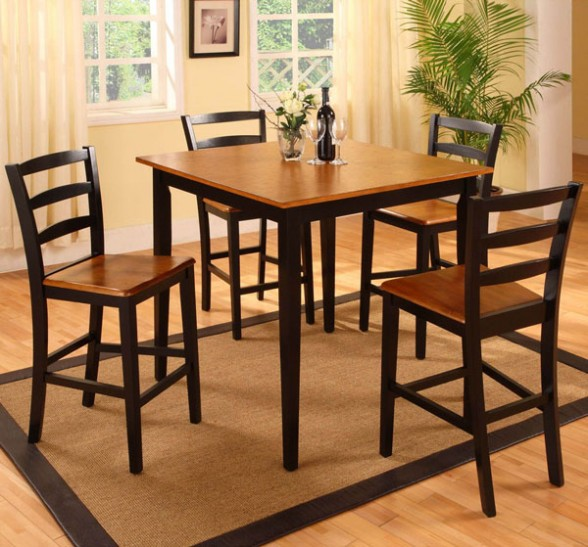 Inexpensive kitchen table sets photo - 2