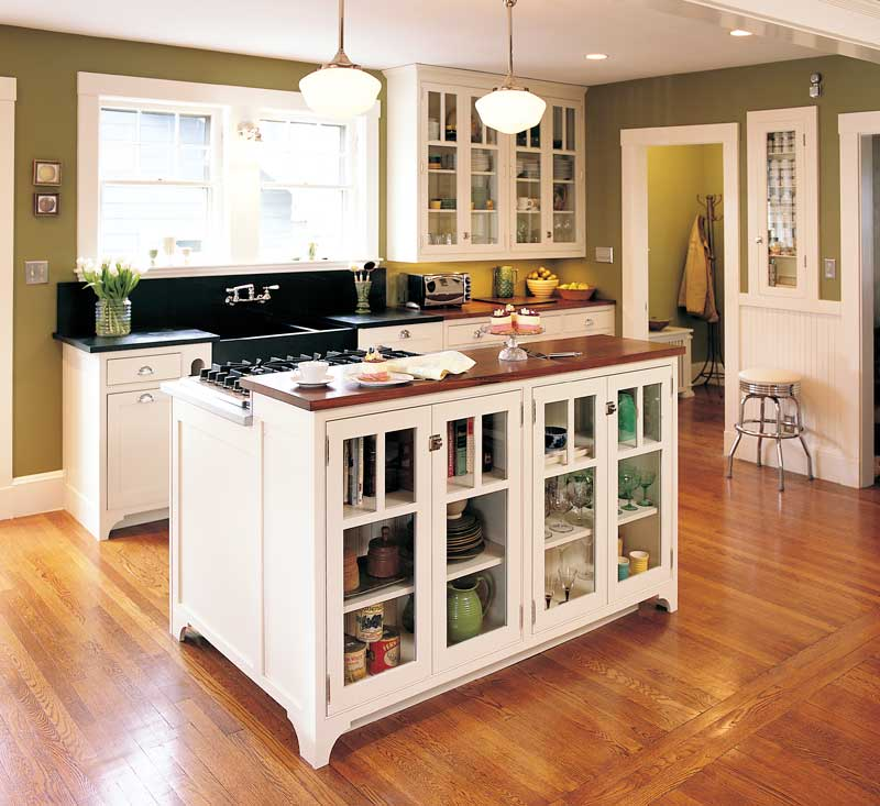 Island kitchen photo - 2
