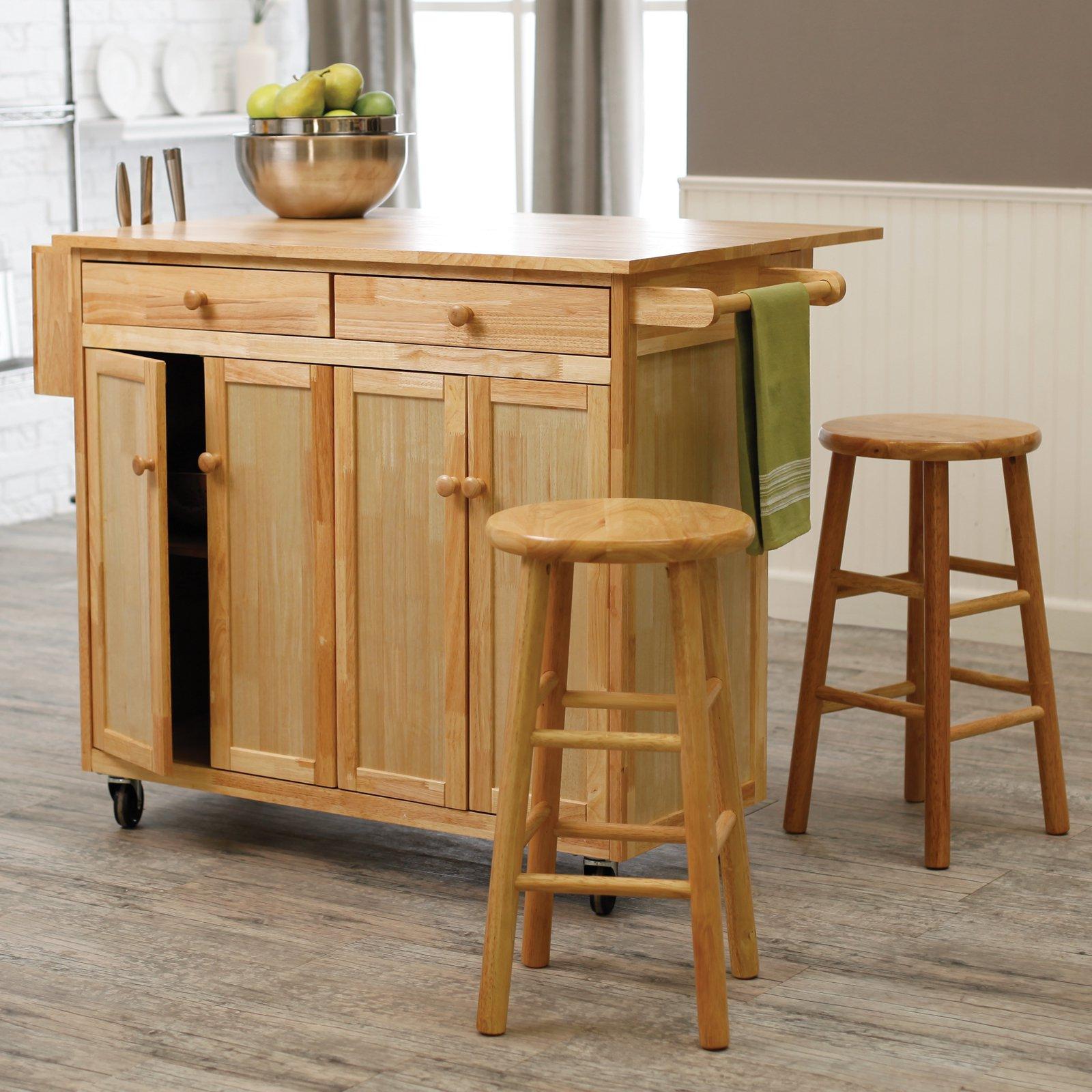 Island kitchen cart photo - 1