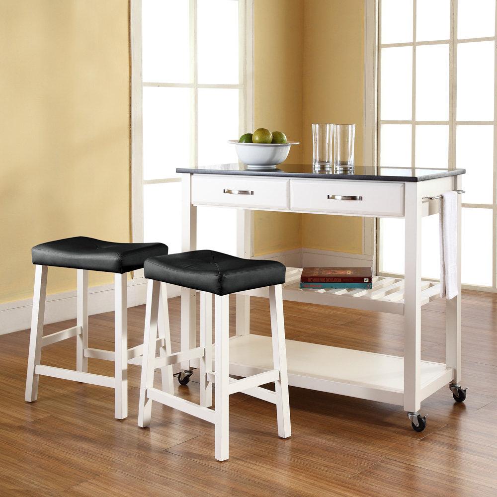 Island kitchen cart photo - 2