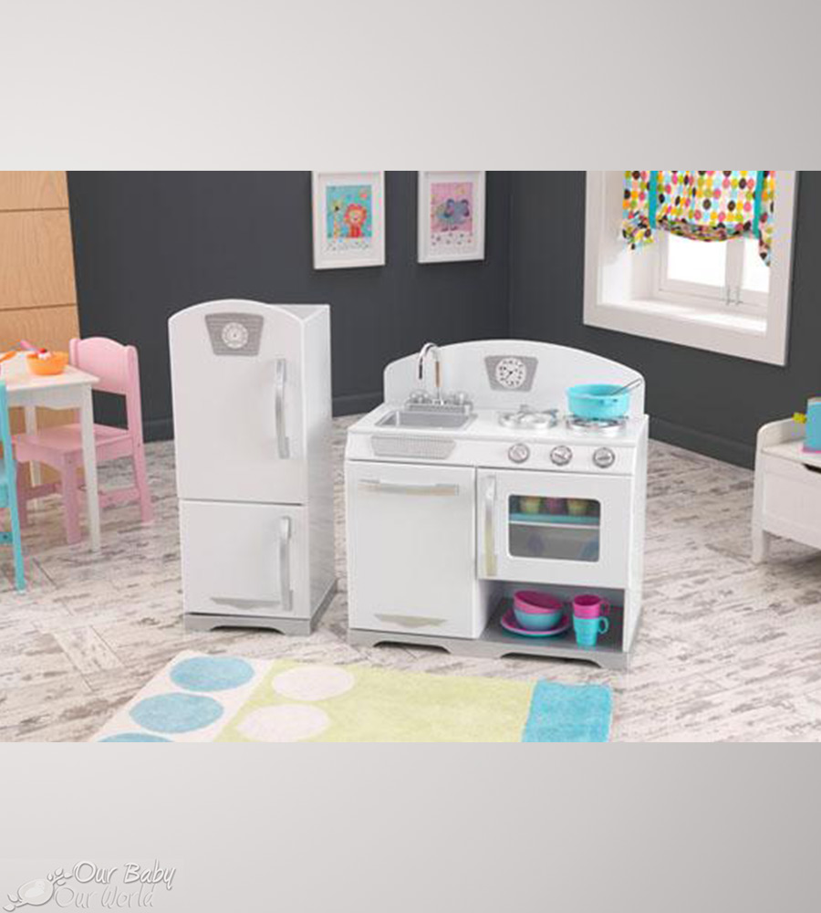 Kidkraft Kitchen White simple kidkraft retro kitchen r throughout design decorating