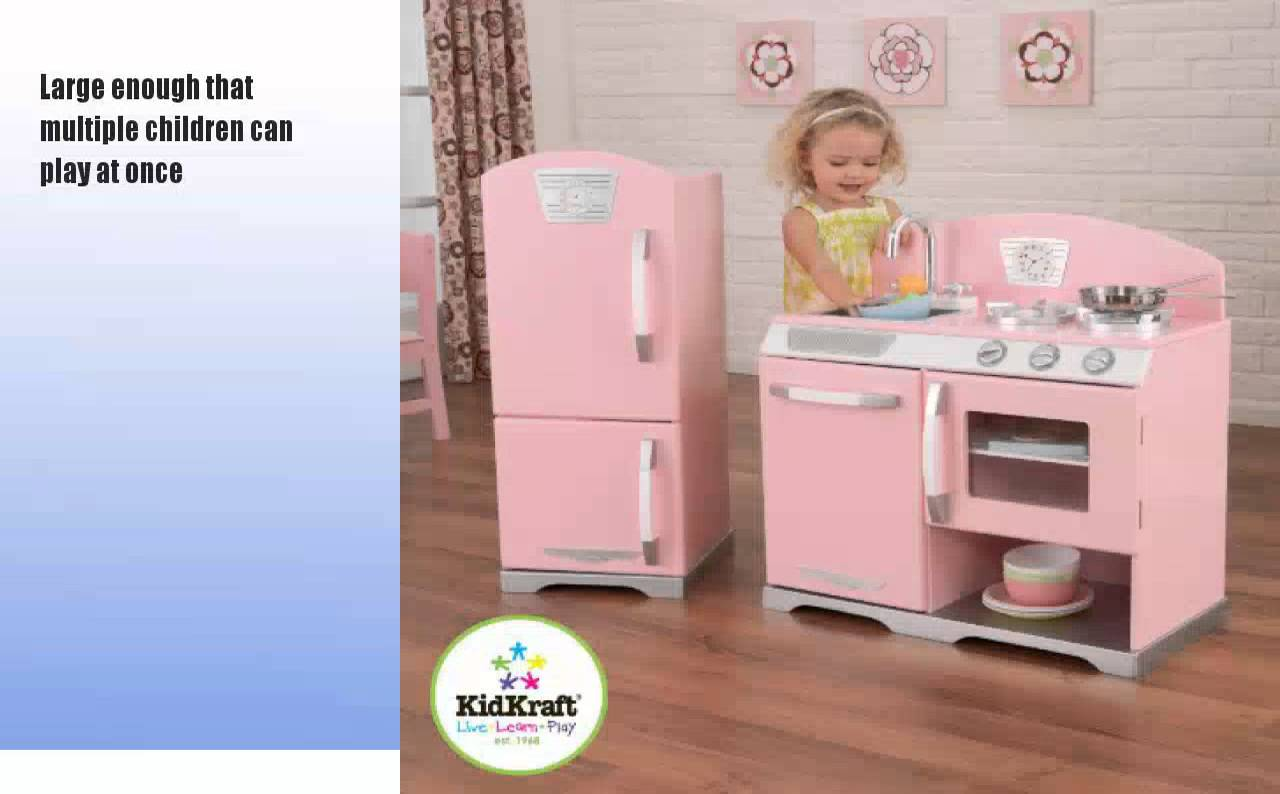 Kidkraft pink kitchen photo - 2