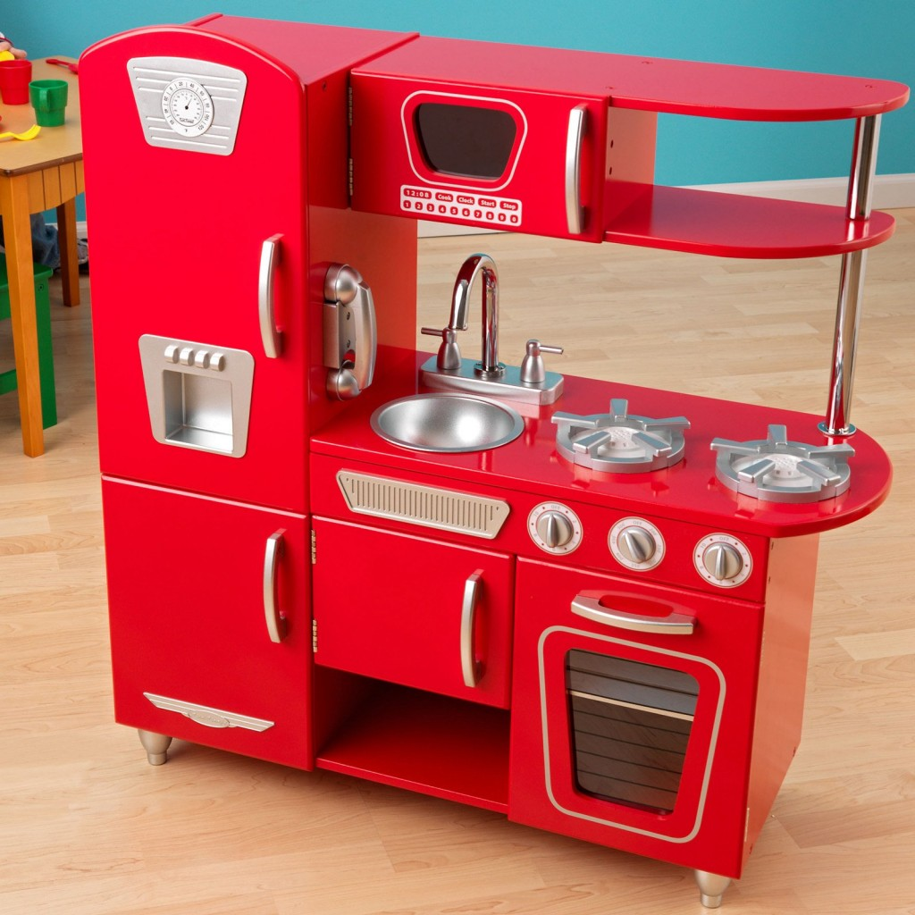 Red vintage kitchen accessories - 10 Photos To Kidkraft Red Vintage Kitchen