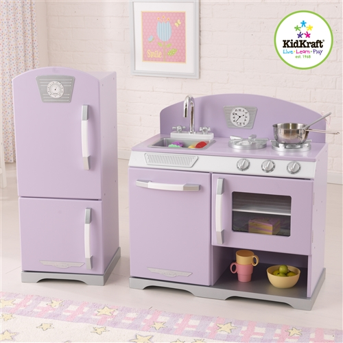 Kidkraft retro kitchen and refrigerator photo - 2