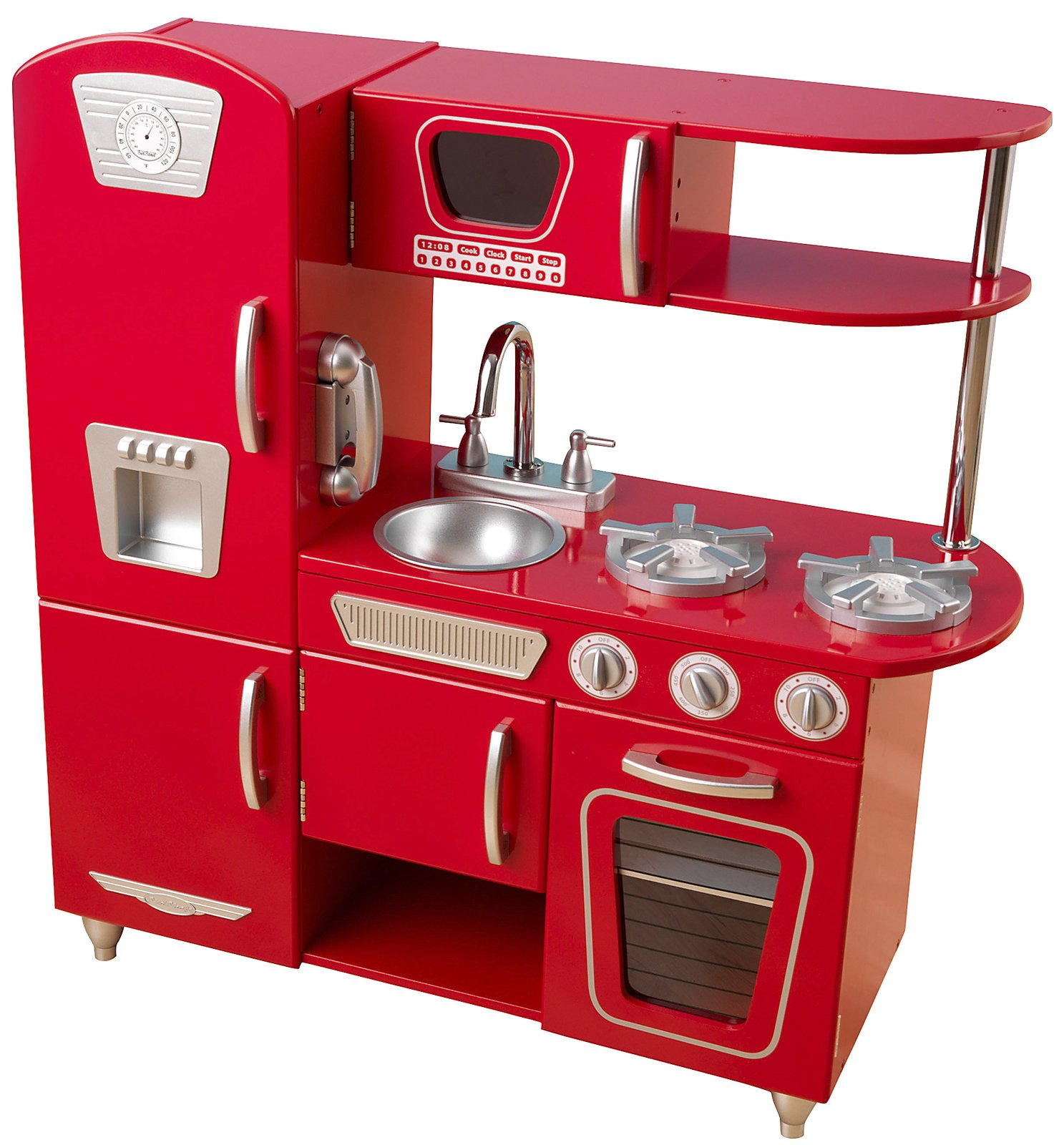 10 Photos To Kidkraft Vintage Kitchen Red