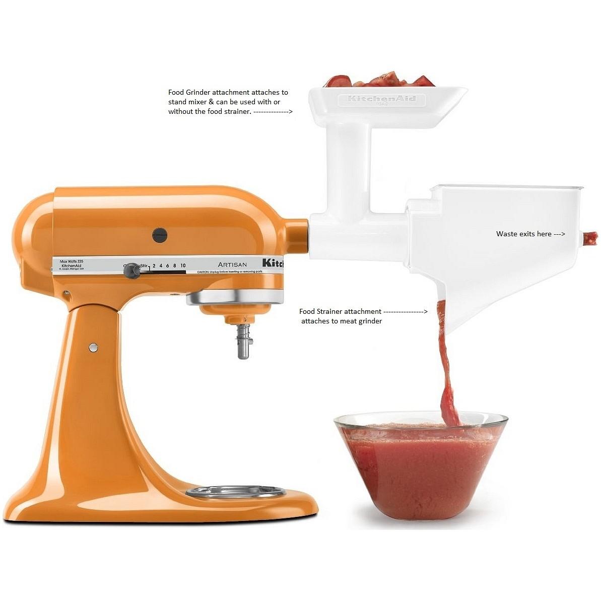 Kitchen aid meat grinder photo - 1