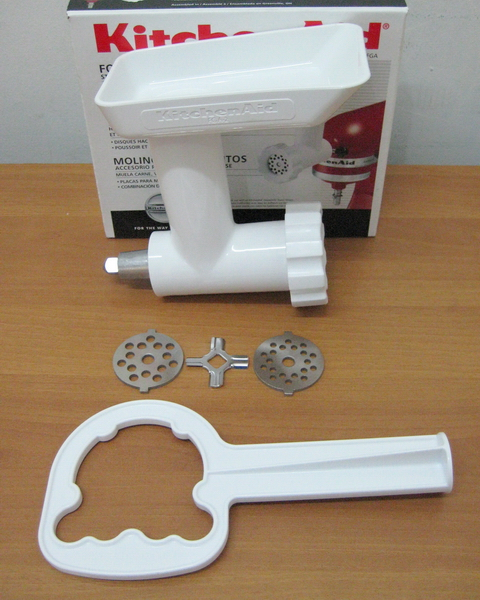Kitchen aid meat grinder photo - 2