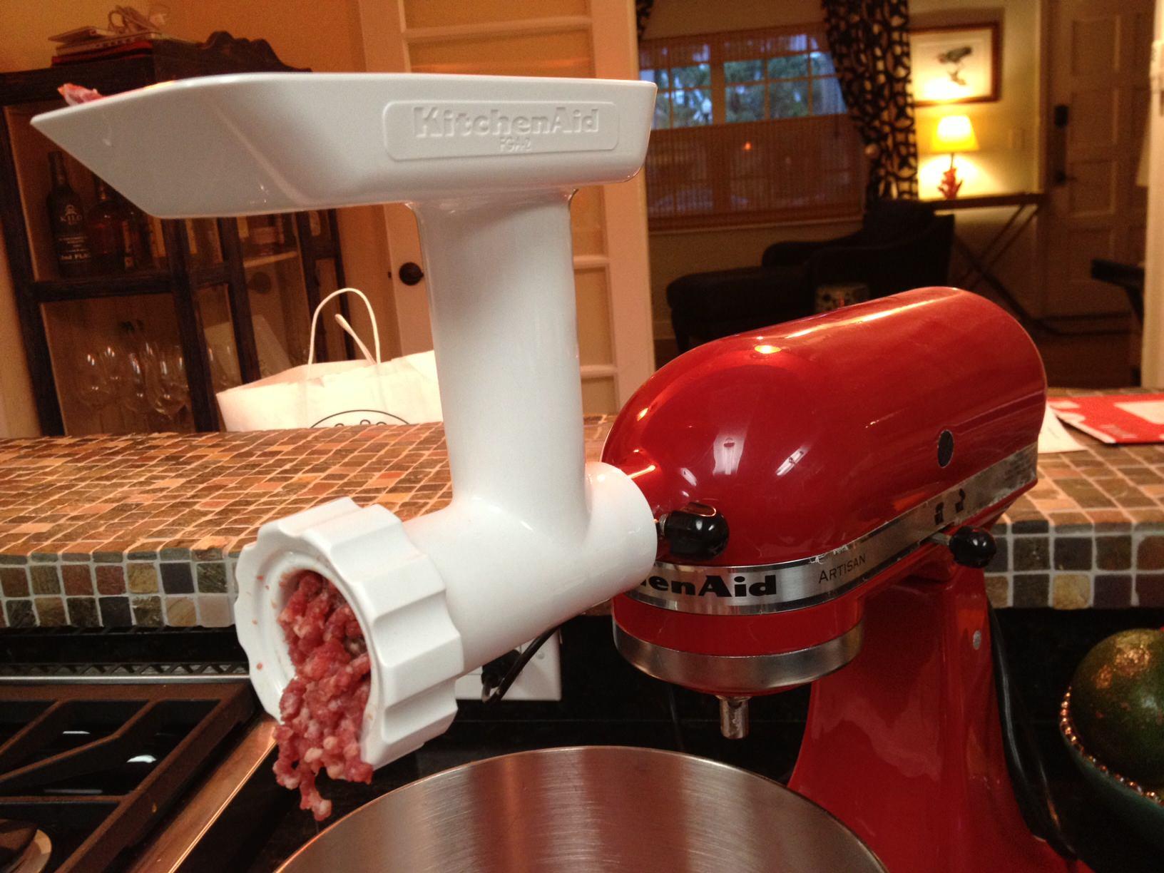 Kitchen aid meat grinder photo - 3