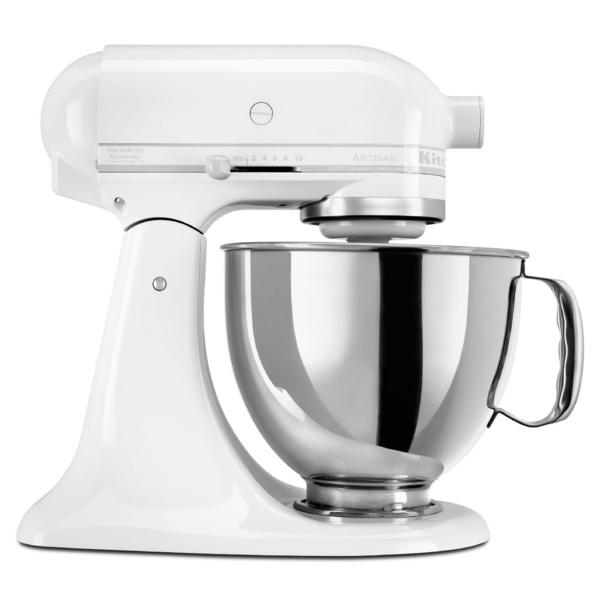 Kitchen aid mixer white photo - 3