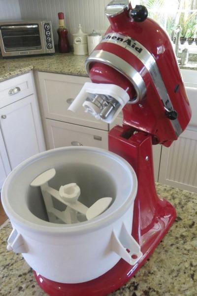 Kitchen aide ice cream maker photo - 3