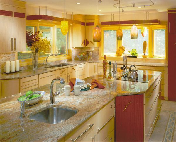 Kitchen apple decor photo - 2