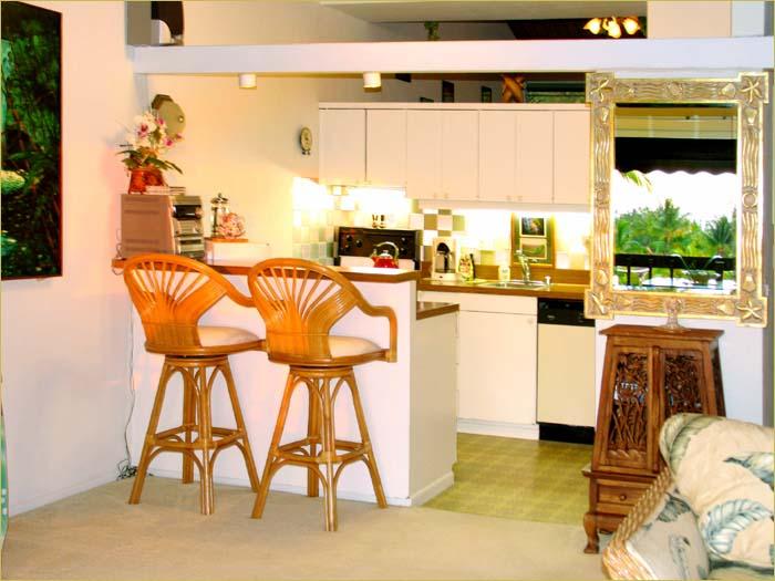 Kitchen bar with storage photo - 2