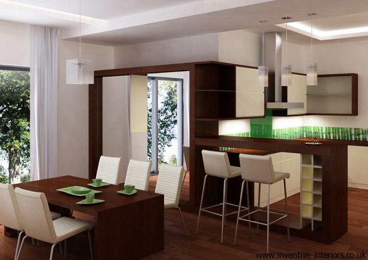 Kitchen bar with storage photo - 3