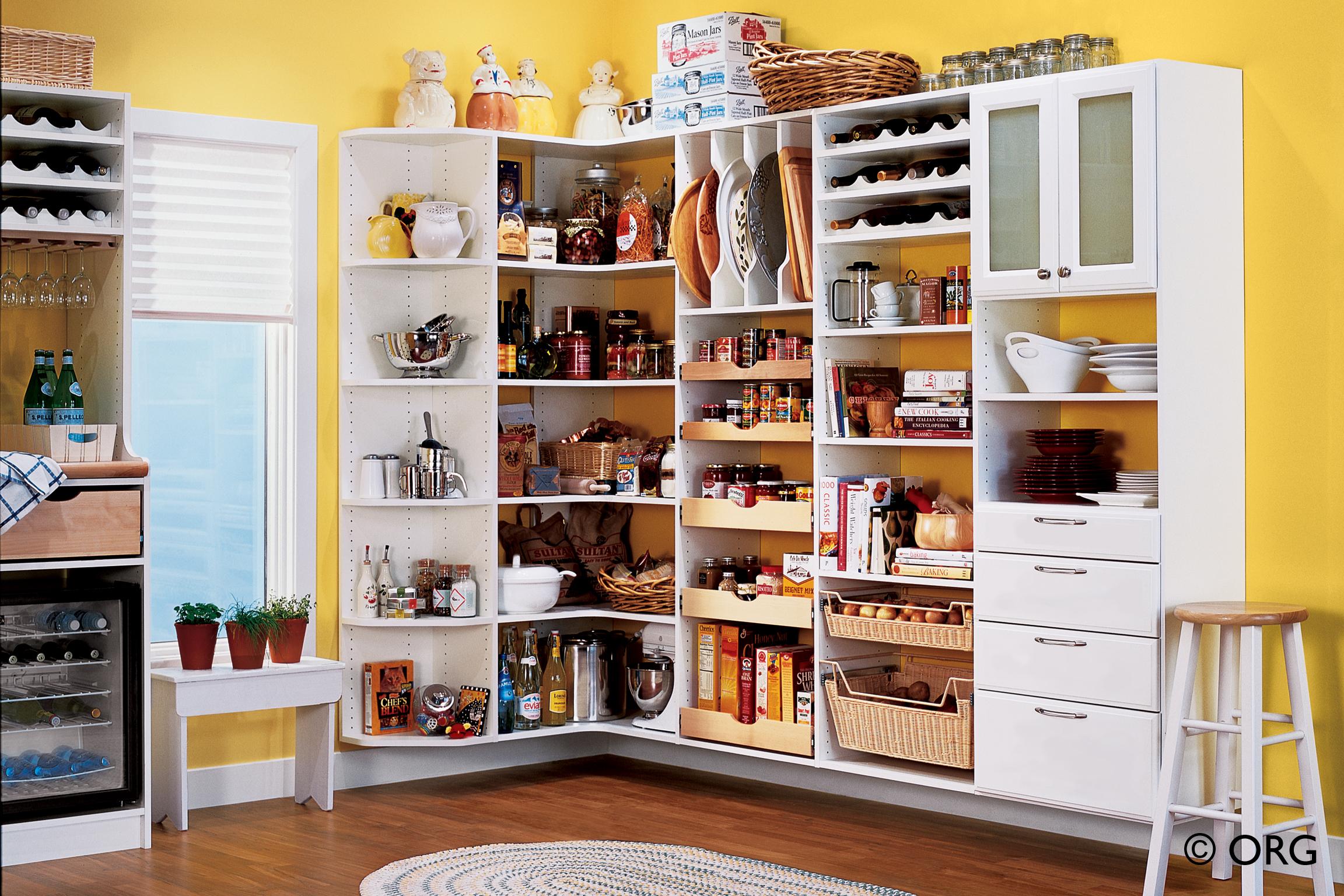 Kitchen basket storage photo - 1