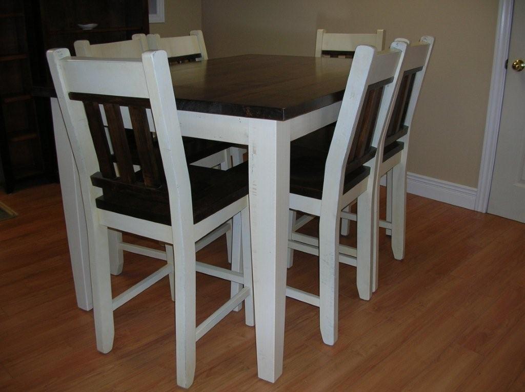 Kitchen bistro table chairs photo - 1