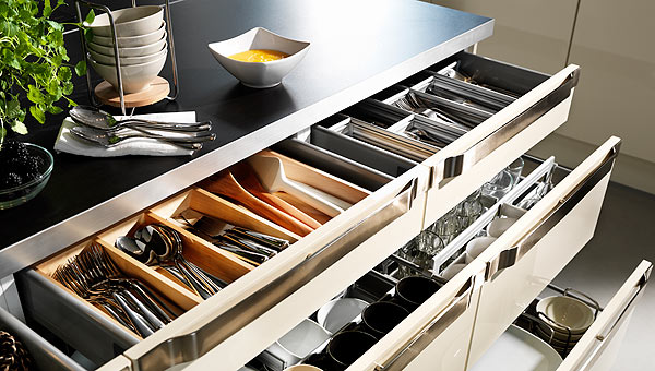 Kitchen cabinet drawer organizers photo - 1