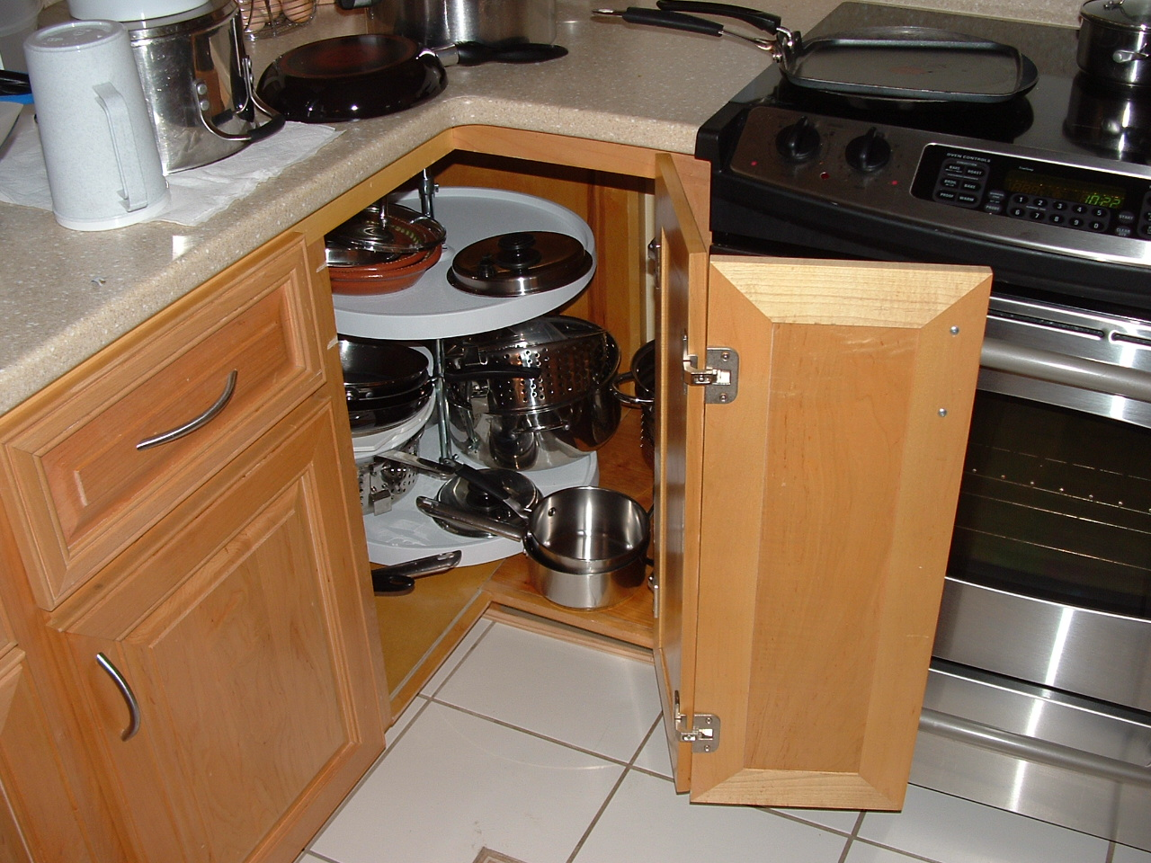 Kitchen cabinet drawer organizers photo - 3