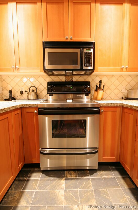 Elegant Kitchen Cabinet For Microwave Photo   1