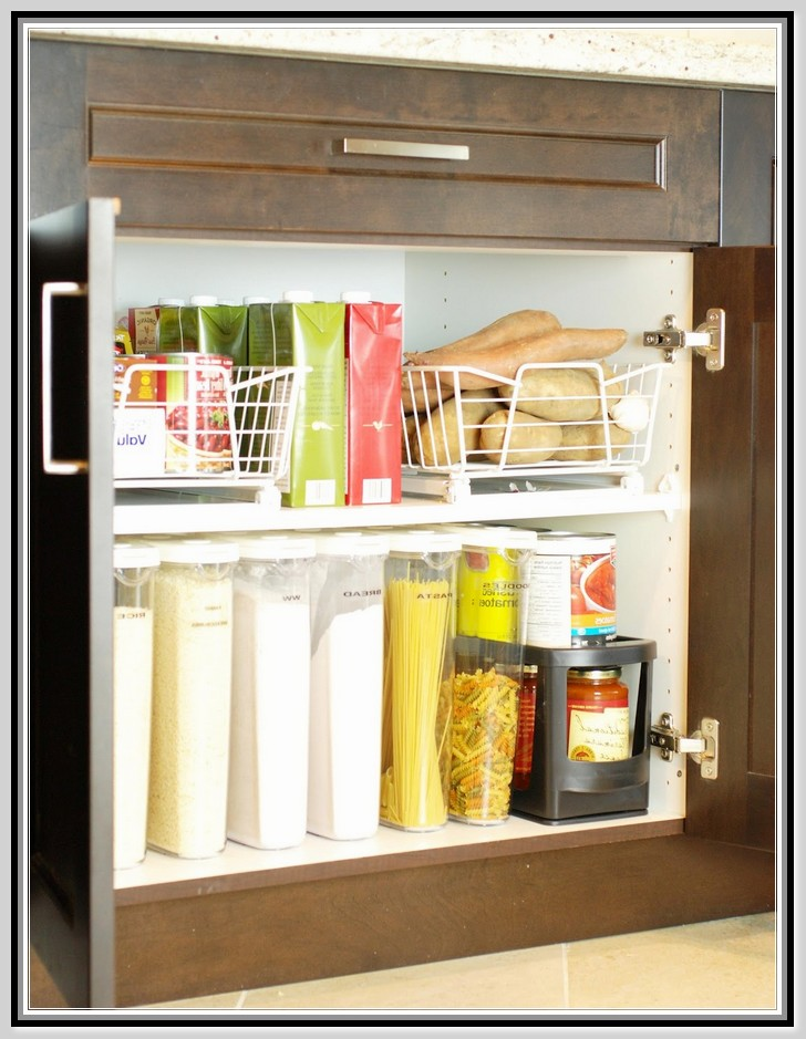 Kitchen cabinet organization products photo - 3