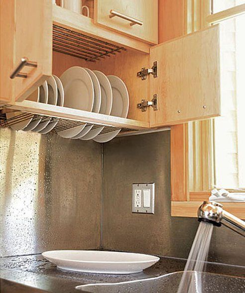 10 Photos To Kitchen Cabinet Space Savers