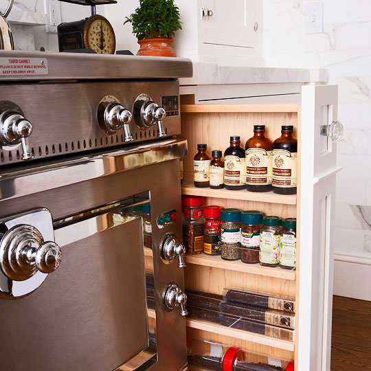 Kitchen cabinet storage organizers photo - 2