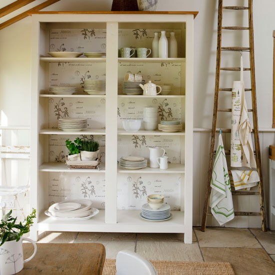 Kitchen cabinet storage shelves photo - 1