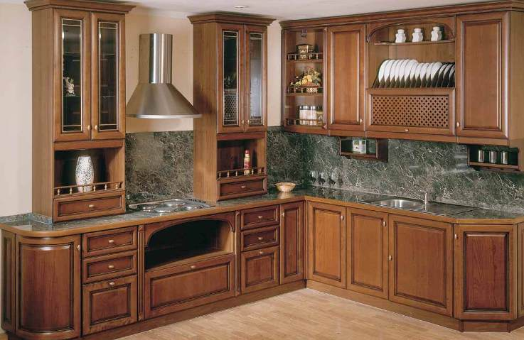 Kitchen cabinets drawers photo - 1