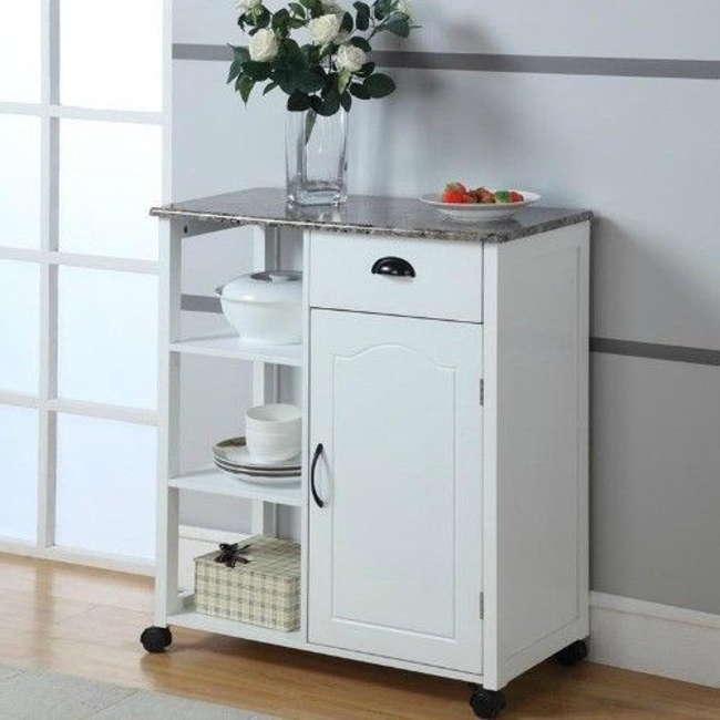 Kitchen cabinets on wheels photo - 2