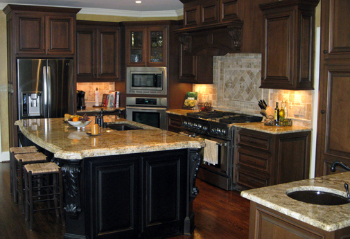 Kitchen cabinets organization photo - 1