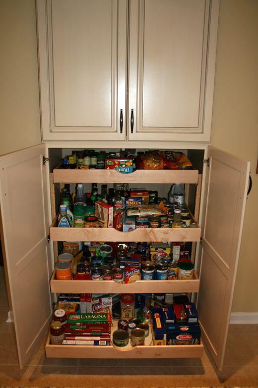 Kitchen cabinets pantry units photo - 1