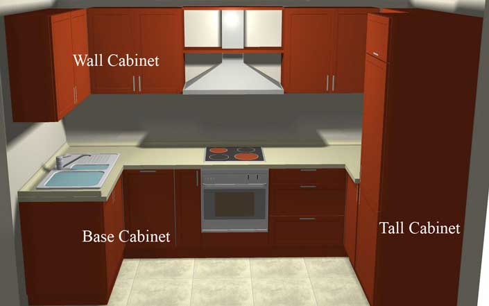 Kitchen cabinets pantry units photo - 3