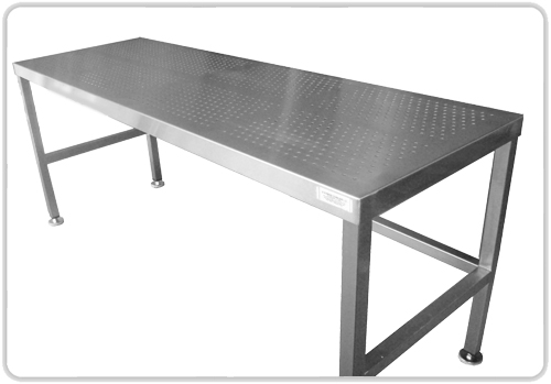 Kitchen cart stainless steel top photo - 1