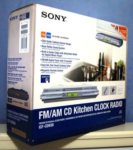 Kitchen cd player under cabinet photo - 3