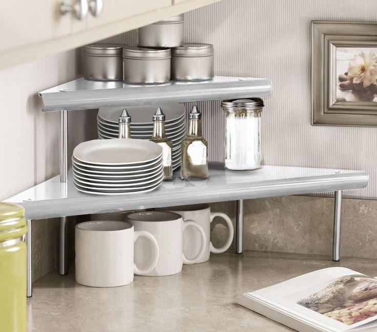 Kitchen counter corner shelf photo - 3
