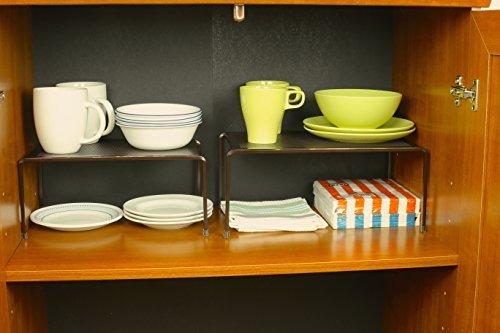 Kitchen counter organizer shelf photo - 2