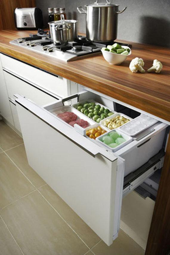 Kitchen counter storage photo - 3