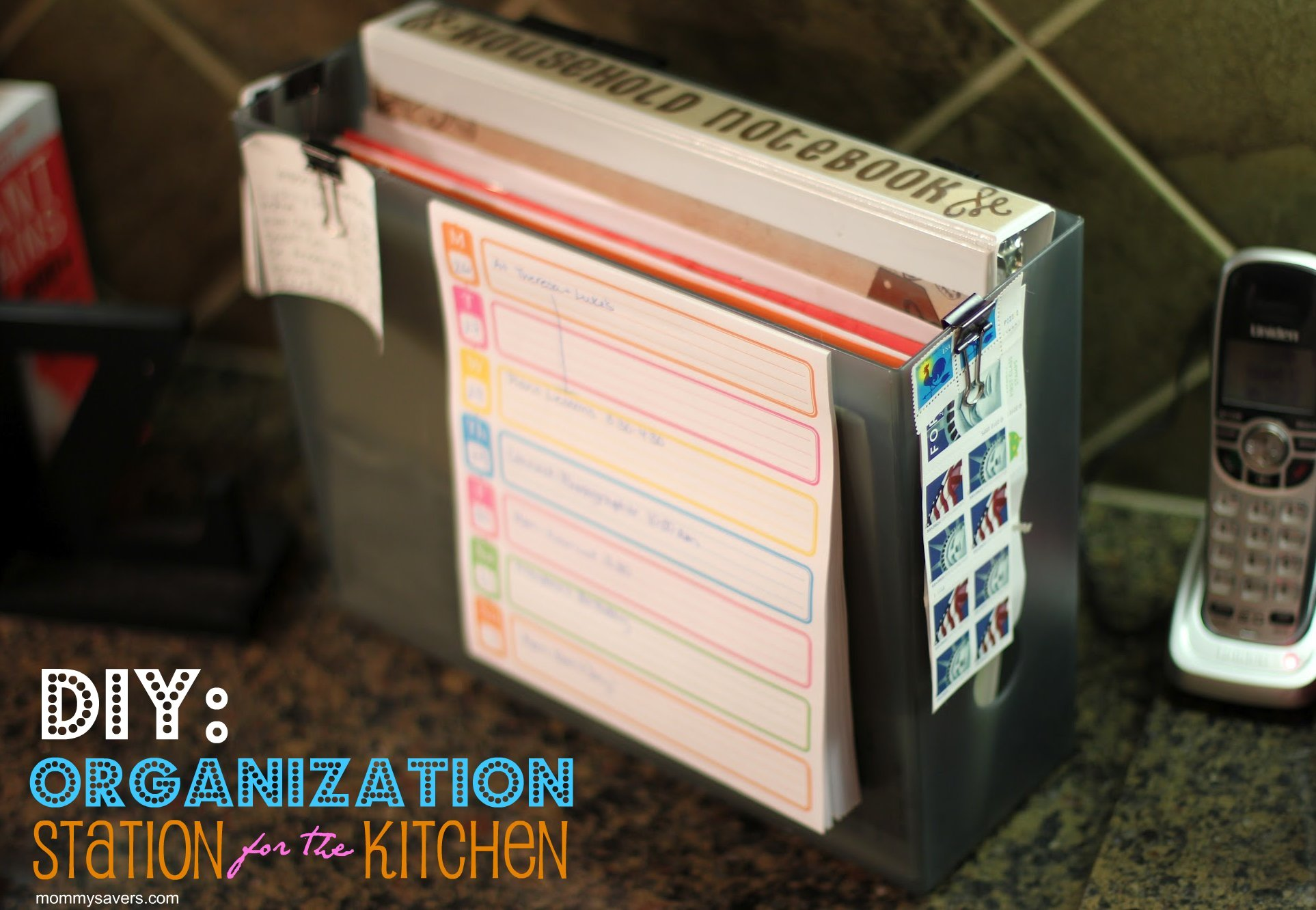 Kitchen countertop organization photo - 1