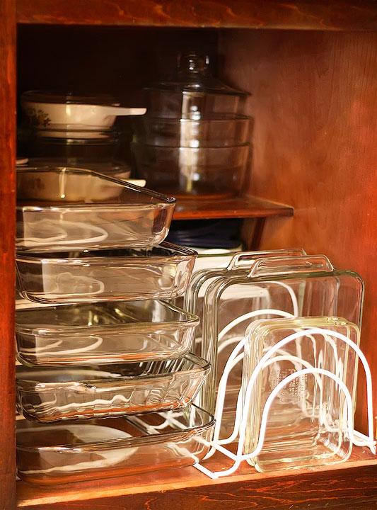 Kitchen cupboard storage photo - 2