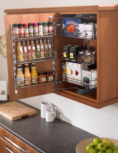 Kitchen cupboard storage photo - 3